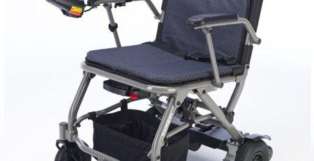 silla de ruedas electrica plegable kompas 7