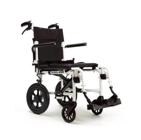 silla de ruedas de transferencia y traslado bobby evo