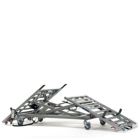 cama articulada con carro elevador illico 4