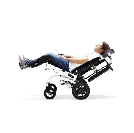 silla basculante juditta bs60 para exteriores ruedas autopropulsables