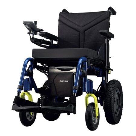 esprit action silla de ruedas electrica plegable