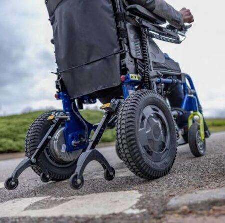 esprit action silla de ruedas electrica plegable 6