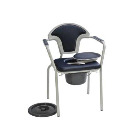 silla inodoro con tapa y reposabrazos pvc